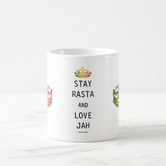 Caneca De Café Estada Rasta e amor Jah