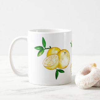 Caneca De Café Estam árvore de laranja folha em Weg