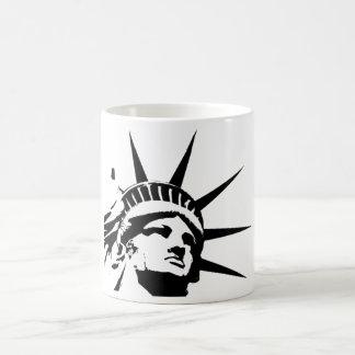 Caneca De Café Estátua da liberdade de América