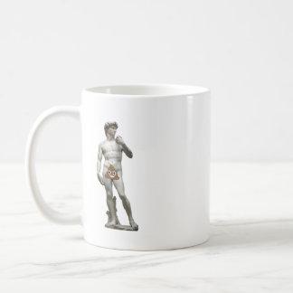 Caneca De Café Estátua de David com tombadilho (esquerdista)