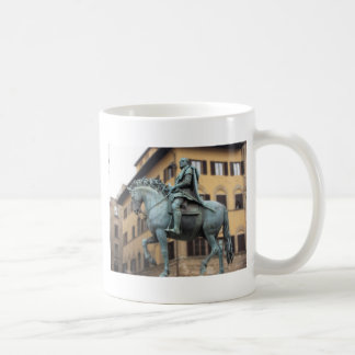 Caneca De Café Estátua equestre de Cosimo de Medici, Florença