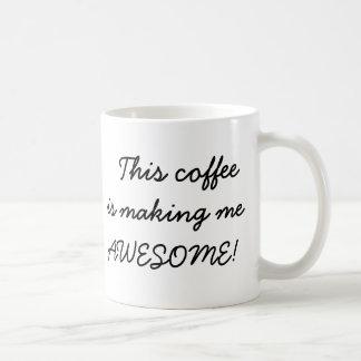 Caneca De Café Este café está fazendo-me a piada engraçada