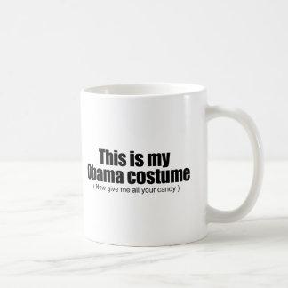 Caneca De Café Este é meu Obama que o traje me dá agora todo seu