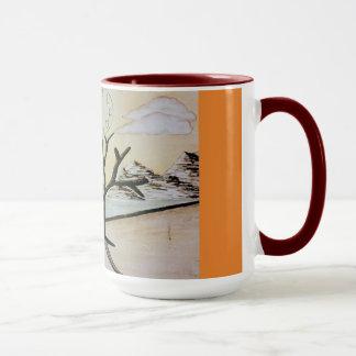 caneca de café estéril do workscape