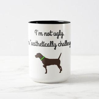 """Caneca de café """"estètica desafiada"""" de"""