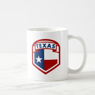 Caneca De Café Estilo da brasão da bandeira de Texas