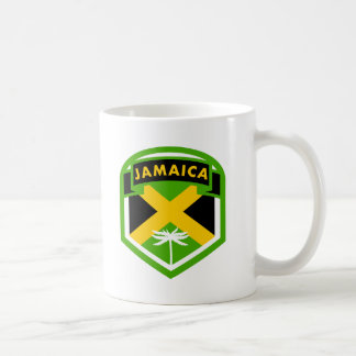 Caneca De Café Estilo do protetor da bandeira de Jamaica