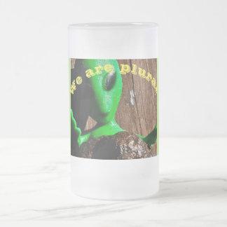 Caneca de café estrangeira