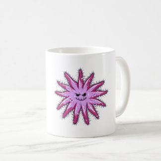Caneca De Café Estrela do mar engraçada dos Coroa--Espinhos com