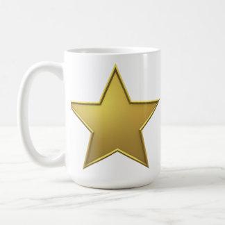 Caneca De Café Estrela do ouro