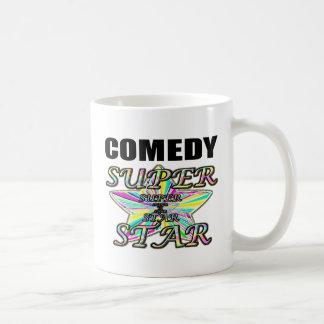Caneca De Café Estrela mundial da comédia