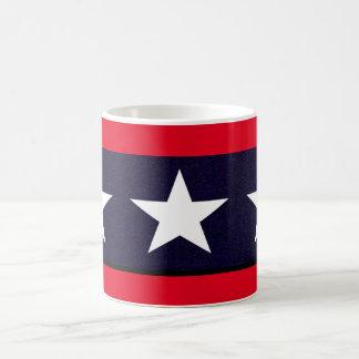 Caneca De Café Estrela solitária de Texas
