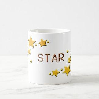 Caneca De Café estrelas