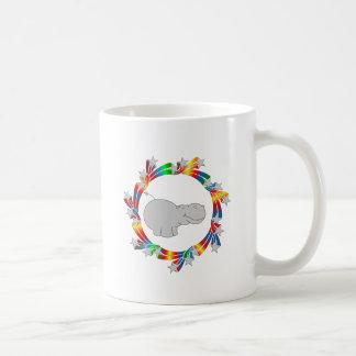 Caneca De Café Estrelas do hipopótamo