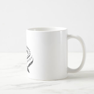Caneca De Café Esturjão tribal - beluga de Huso