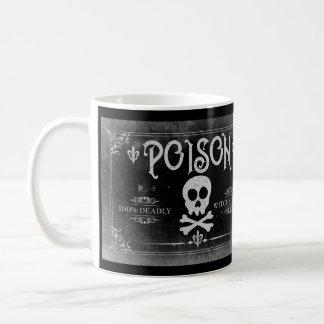 Caneca De Café Etiqueta do veneno