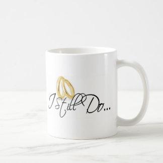 Caneca De Café Eu ainda faço o logotipo