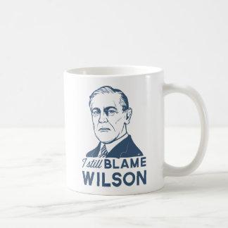 Caneca De Café Eu ainda responsabilizo Woodrow Wilson