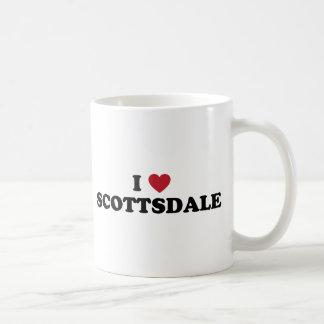 Caneca De Café Eu amo a arizona de Scottsdale