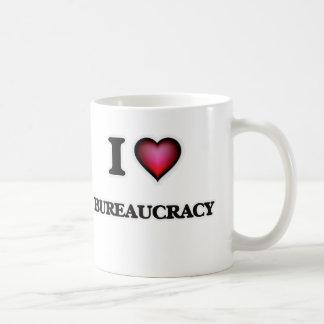Caneca De Café Eu amo a burocracia