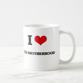Caneca De Café Eu amo a fraternidade