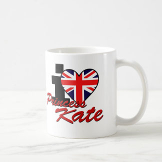 Caneca De Café Eu amo a princesa Kate