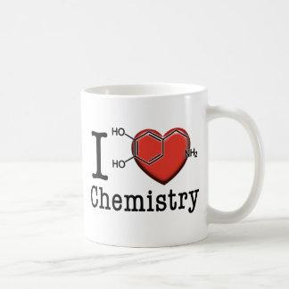 Caneca De Café Eu amo a química