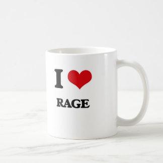 Caneca De Café Eu amo a raiva