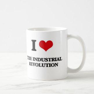 Caneca De Café Eu amo a Revolução Industrial