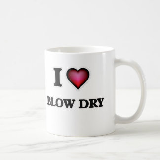 Caneca De Café Eu amo a secagem