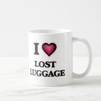Caneca De Café Eu amo bagagem perdida