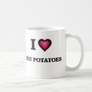 Caneca De Café Eu amo batatas quentes