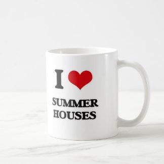 Caneca De Café Eu amo casas de verão