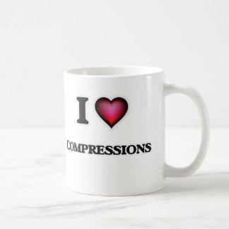 Caneca De Café Eu amo compressões