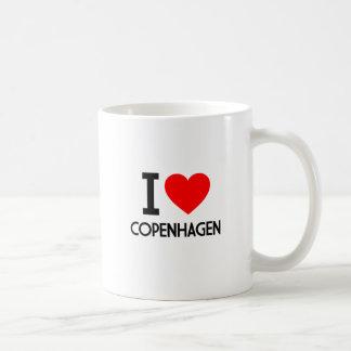 Caneca De Café Eu amo Copenhaga