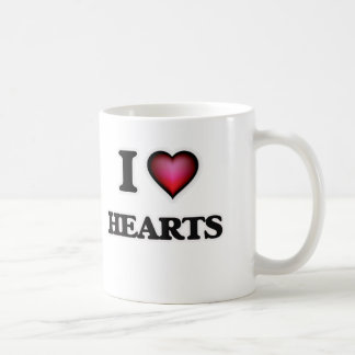 Caneca De Café Eu amo corações