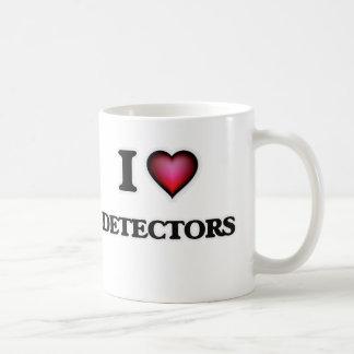 Caneca De Café Eu amo detectores