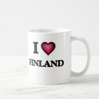 Caneca De Café Eu amo Finlandia