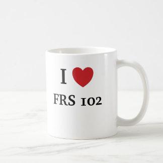 Caneca De Café Eu amo FRS 102 - FRS 102 ama-me