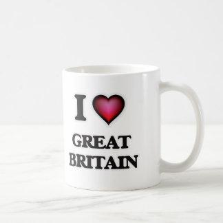 Caneca De Café Eu amo Grâ Bretanha