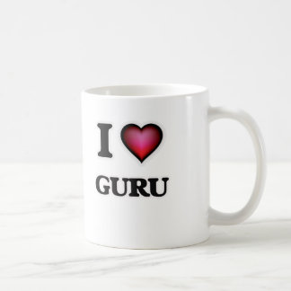 Caneca De Café Eu amo Guru