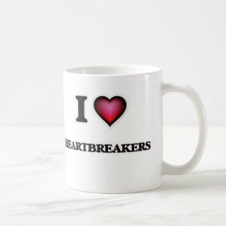 Caneca De Café Eu amo Heartbreakers