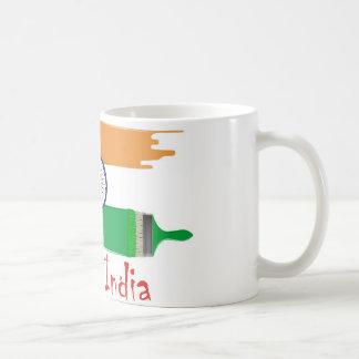 Caneca De Café Eu amo India