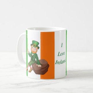 Caneca De Café Eu amo Ireland