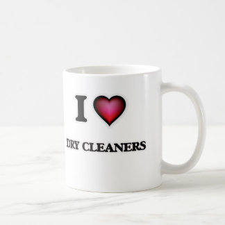 Caneca De Café Eu amo líquidos de limpeza secos