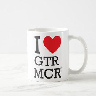 Caneca De Café Eu amo MCR GTR