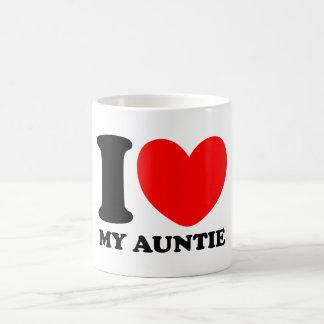 Caneca De Café Eu amo meu Auntie
