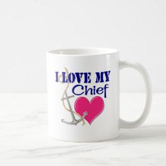 Caneca De Café Eu amo meu chefe