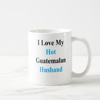 Caneca De Café Eu amo meu marido guatemalteco quente