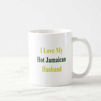 Caneca De Café Eu amo meu marido jamaicano quente